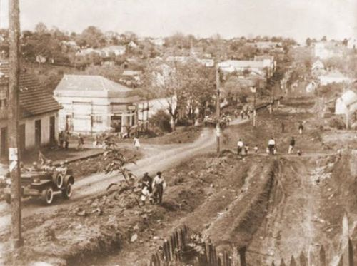 Subida Botafogo ou das laranjeiras como diziam os pioneiros....atualmente Avenida Brasil.