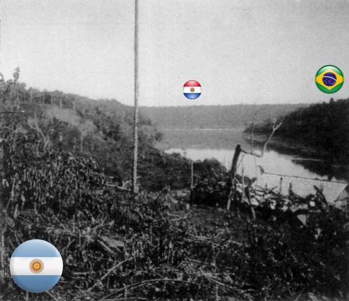 1904 tríplice fronteira