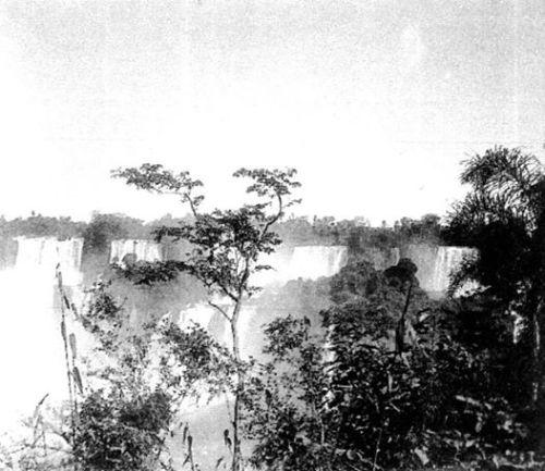 Cataratas do Iguaçu dos tempos idos...