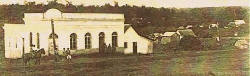 Delegacia de Polícia na Pça Getúlio Vargas, beirando os anos 30.