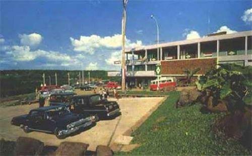 Hotel Casino Acaray-Py nos anos 70...