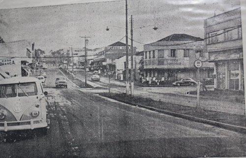 Foto relíquia da Av. Brasil nos anos 60...