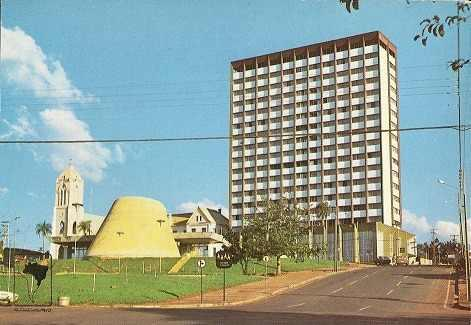 Foz do Iguaçu nos anos 70.
