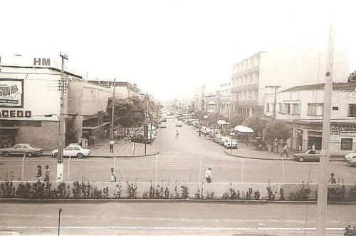 Av. Brasil no final dos anos 70...