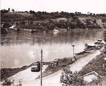 Porto Meira nos anos 70...( rio Iguaçu)