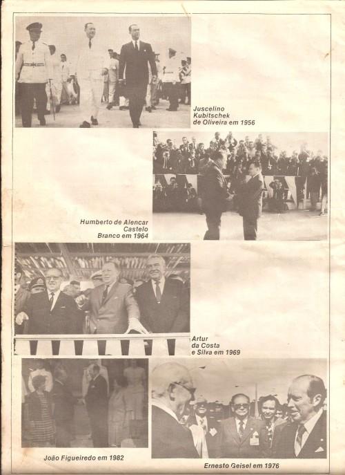 Revista memória de Foz do Iguaçu de 1982.