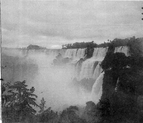 Cataratas do Iguaçu 1904. Salto San Martin