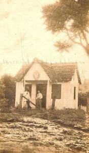 Consulado argentino na Av. Brasil,onde hoje funciona o magazine Luíza. (acervo Loty Ferreira)