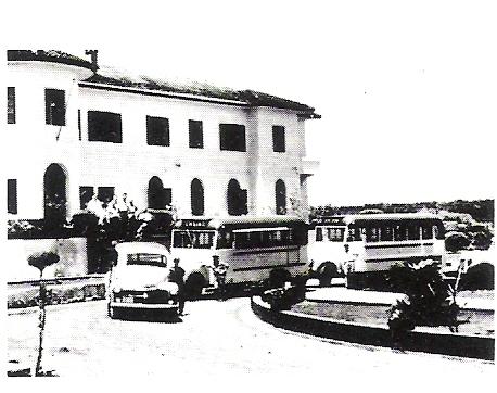 Em 1940 Hotel Cassino Iguaçu, hoje recem inaugurado SENAC.