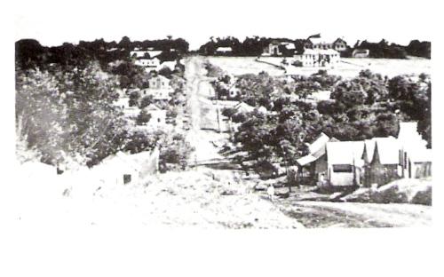 Em 1938 ' Bota Fogo', hoje Avenida Brasil.