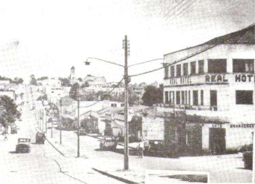 Avenida Brasil em 1960.