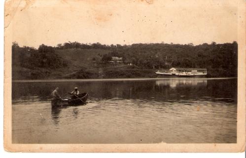 Olha o rio Iguaçu nos tempos idos...