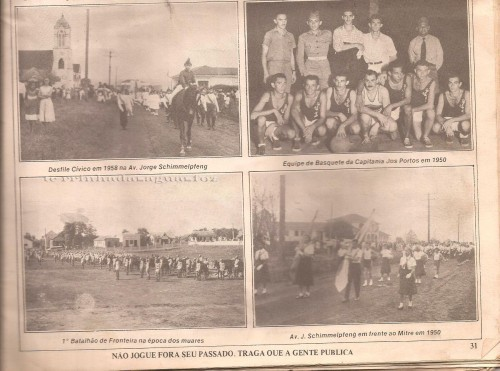 Revista memória de Foz do Iguaçu- 1982.