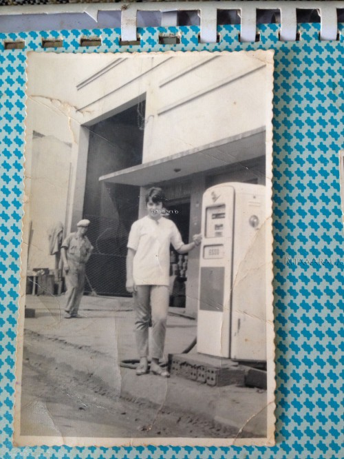 1° Posto de Combustível na Av. Brasil de Augusto Araujo na déc. de 60...