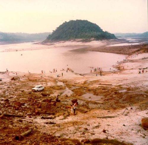 Ilha Acaray ( final dos anos 70)