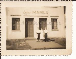 Relíquia este registro da saudosa Lojas Marilú ...