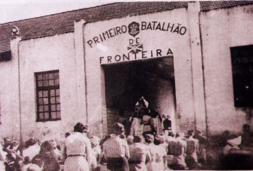 1º Batalhão de Fronteira na década de 50.