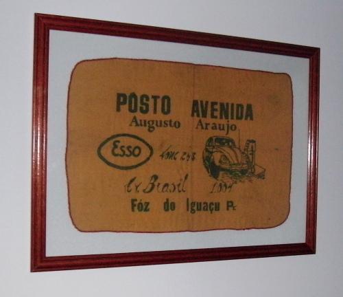 Flanela do 1° Posto de Combustível de Foz do Iguaçu na Av. Brasil.
