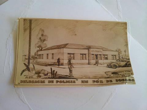 Delegacia de Polícia Civil em Foz do Iguaçu, ainda em projeto no papel...tempos idos mas não esquecidos!! :)