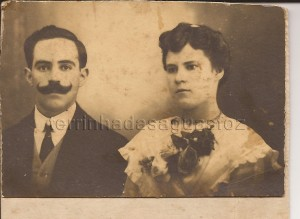 Sibylla e Candido Ferreira. (Avós paternos de Loty Ferreira).