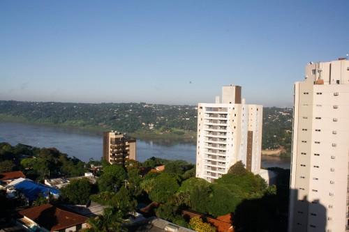Uma bela vista do rio Paraná...