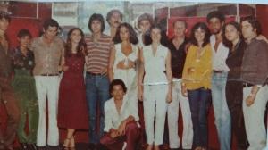 Evento no Hotel Carimã nos anos 80.